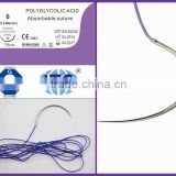 Medical Consumables-polyglycolic acid suture/PGA suture-absorbable suture-Factory with CE/ISO