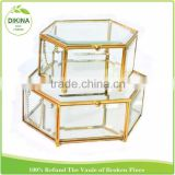 Different sizes storage Jewelry Chest, Medicine Headset display container case , manufacture wholesale glass accessories box