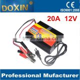Battery Charger For Car Intelligent 3 stages 10A AC 220V to DC 12V Car Lead acid Battery