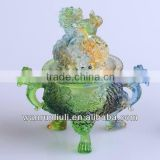 Chinese Crystal Incense burner