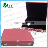 professional pink laptop&Brief cases,laptop packing cases,computer box,aluminum laptop case