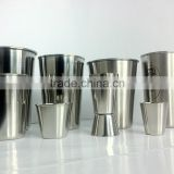 stainless steel bar jigger with laser,shot glasses,beer cups,mini glasses