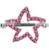 fashion diamond star body piercing nipple jewelry nipple rings