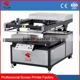 Ykp6090/70100/90120 with vacuum table heat transfer paper spot uv screen printing machine