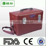 First aid box, Leather health care case