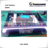 LCD-3000 powavesound 1000w high power amplifier dj power amplifier acoustic power amplifier LCD display
