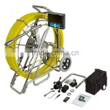 TVBTECH 3299F Self Leveling Water Pipe Inspection Camera With Meter Counter And Dvr Function