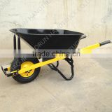 Heavy Duty Concrete Wheelbarrow With Steel Handle 150mm Width Wheel for Australia Market WB8630
