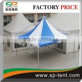 6x6m luxury cheap garden line wedding gazebo tent for 25 people