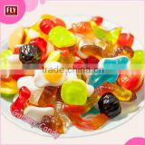 All Kinds of Chewy Sweet Candy , Halal Snake / Bear / Animal Shape Bulk Gummy Candy