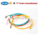 colorful jacket fiber optic cable for short distance data transmission and communication