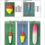 Wholesale Eva Pvc float top quality fishing foam float fishing net float fishing float tube