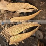 antique imitation wooden wings sculpture home decoration sculpture