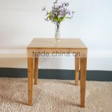 New style cheap bamboo furniture square Coffee Table price