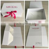 First in your eyes, customized wedding sweet packing box in jewelry industry , in wedding dress apparel industry.