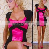 OEM customized sexy clubwear sexy dress playsuit sexy cocktail party dress banquet dinner dress