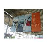Durable PVC flex, polyester, fishnet indoor & outdoor large format flags banners printing