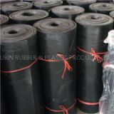 Black CR Rubber Fabric Insertion Sheet