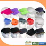Cheap sun visor cap and hat wholesale
