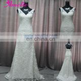 AC1061 Elegant V Neckline Lace Wedding Dress