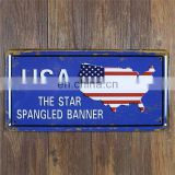 USA Vintage Metal Tin Sign License Plate Slogan Style Retro Plaque Poster Bar Pub Club Wall Tavern Garage Home Decor