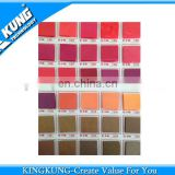 2014 hotest color card for PVC airblowing granule
