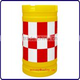 Factory Supply! FRP warning column/ traffic plastic warning bollard
