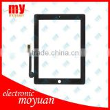 Replacement for ipad3 Touch Screen Black color for ipad 3 screen digitizer replacement with high quality