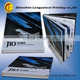 Shenzhen factory 20 years experience high quality butterfly binding souvenir book design printing