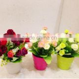 Home decoration Other holidays Occasion and Decorative Flowers & Wreaths Type Artificial succulent with pot