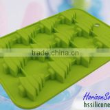 Christmas Tree Shaped Chocolate Candy Bar Molds