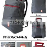 Hot sale items Promotional sport fashion outdoor new men Backpack high quatily polyester grey colour special price