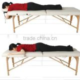 ADJUSTABLE PORTABLE FOLDING THERAPY BEAUTY MASSAGE BED TABLE COUCH