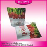 Heat Seal Sealing & Handle and Accept Custom Order clear printing chips packaging plastic bags