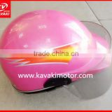 Lovely pink crash helmet for lady girl Popular color and model