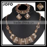 Hot Selling High Quality Alloy Jewelry Set With Gold Plated Jewelry Sets Dubai Custom Jewelry Set