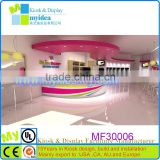 OEM ODM appreciated frozen yogurt mall kiosk, ice cream kiosk for sale, frozen yogurt kiosk shop design