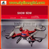 China shenzhen 3.7V/750mAH Li-po battery 360 flip fpv quadcopter remote control LED screen drone with cameras for kids