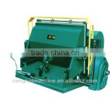 Creasing cutting machine or corrugated board making machine