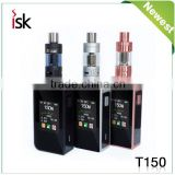 2016 New Vape Temp Control Mods Sigelei T150W Box Mod Touch Screen Vape 2016 E cigarette Wholesale from ISK