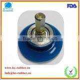 hot selling sync woodworking machinery rubber wheel parts