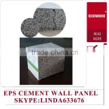 Nonmetal Panel Material and SK Polystyrene particles of cement sandwich panel Type fireproof sandwich panel