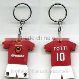Key Chain mady by 2014 Brazil world cup sportsman clothes