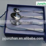 Gift cutlery, Gift box packing stainless steel cutlery sets with low price and high quality