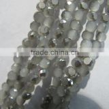 6mm Sales of color bread crystal glass beads CB100