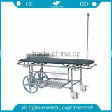 AG-HS016 CE approved stainless steel transfer hospital stretcher dimensions
