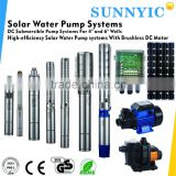 Sailflo 24v 4.0 solar submersible water pump / solar agriculture water pump system for irrigation