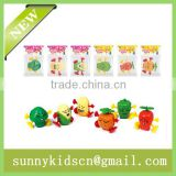 2014 China wind up toy wind up vagetable capsule toy