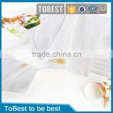 ToBest Hotel supplies Wholesale 100% Cotton Hotel hand/face towels hotel satin bath towels