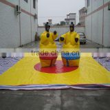 Customized Sumo Suits Sumo Wrestling Inflatable Jousting Arena Games
